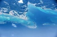 辺野古海岸線の上空写真